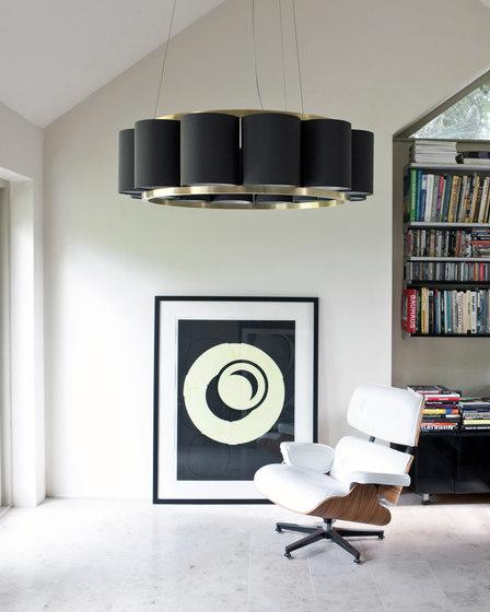 Bibendum Oval Chandelier by Martin Huxford Studio
