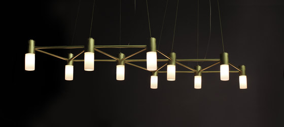The Matrix Chandelier de Martin Huxford Studio