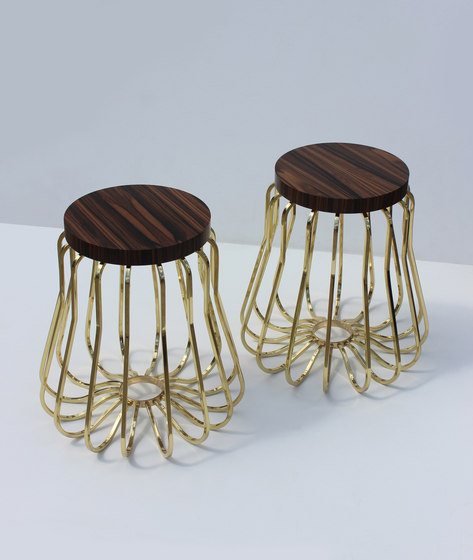 Rococo Side Tables by Martin Huxford Studio