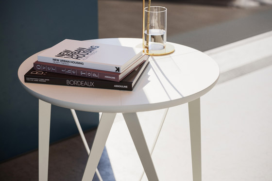 CHRONOS Side Table | Powder-coating by Joval