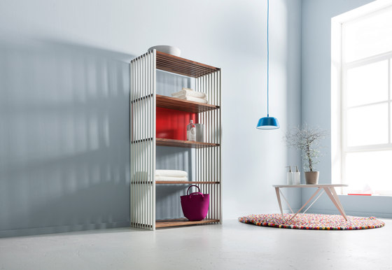 Rebar Foldable Shelving System Shelf 4.4 by Joval