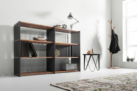Rebar Foldable Shelving System Highboard 3.3 by Joval