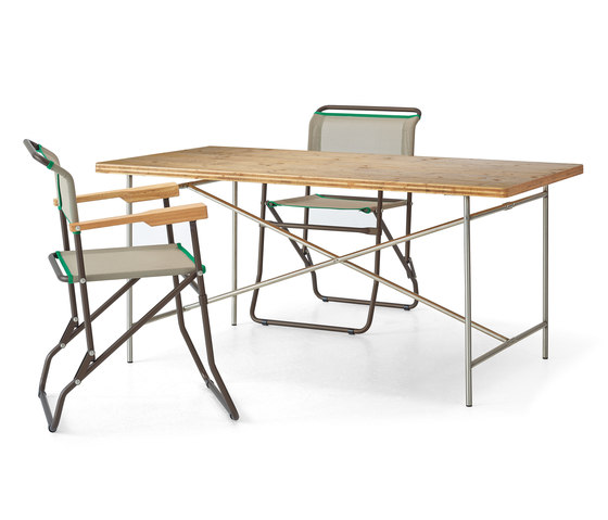 Eiermann 2 dining table di Richard Lampert