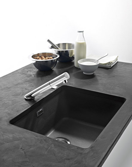 Kubus Sink KBG 110-34 Fragranite + Stone Grey by Franke Kitchen Systems