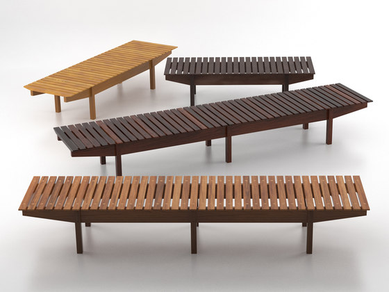Mucki bench von LinBrasil