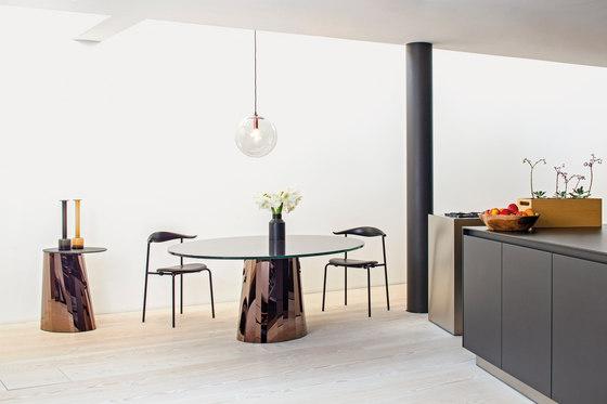 Pli Table Black marble by ClassiCon