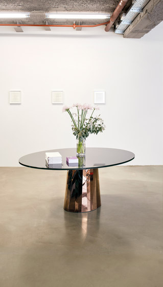 Pli Table Pyrit Bronze von ClassiCon