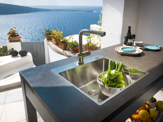 Franke Box Sink BXX 210-40 A Stainless Steel by Franke Kitchen Systems