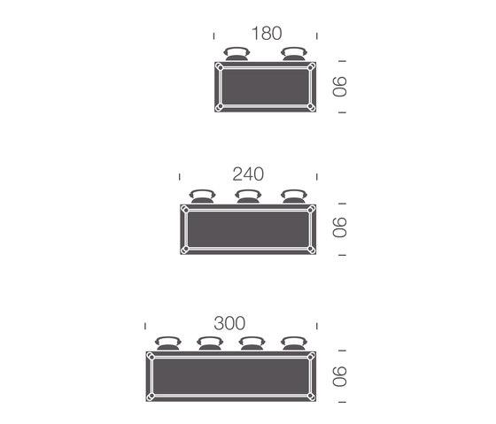 Beech Basic rectangle von DUM