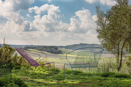 Bolonia Stuhl | Plain blue von iSimar