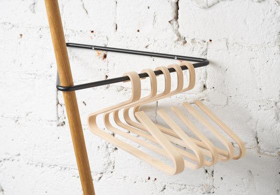 TRIANGLE Coat Rack birch+white by Nordic Hysteria