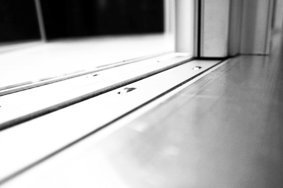 Doorstep level with the floor by OTIIMA