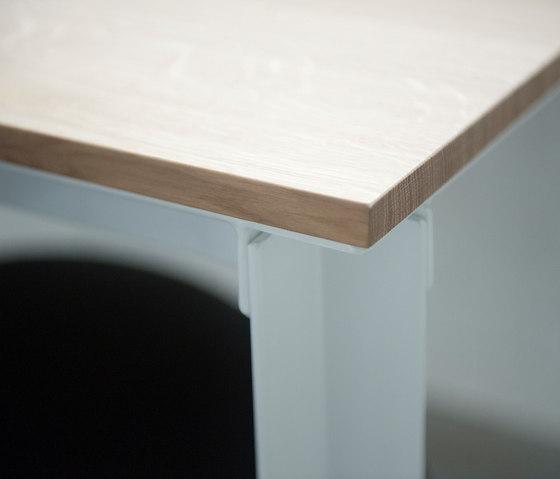 Raster dining table di Van Rossum