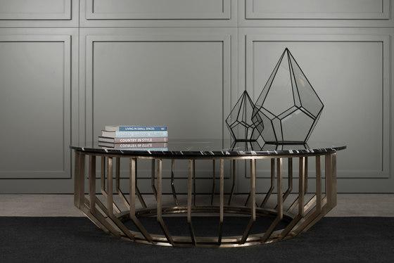 Brass Low Table de Gotwob