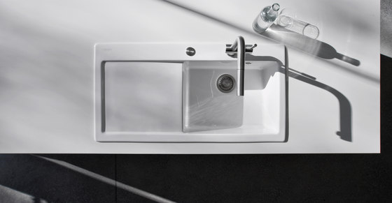 Mythos Sink MTK 610-58 Ceramic Onyx de Franke Kitchen Systems