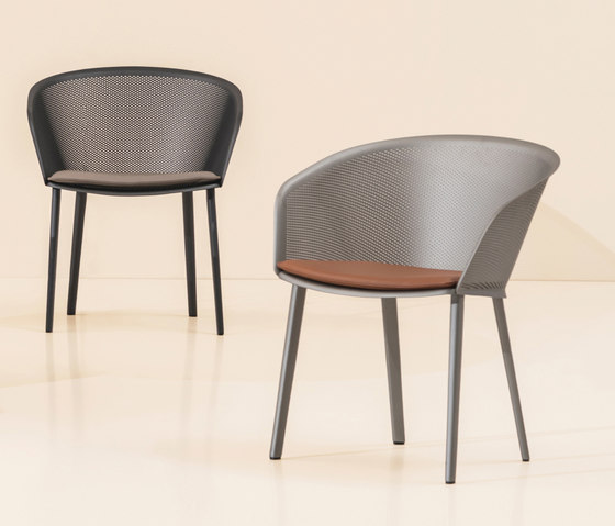 Stampa dining chair de KETTAL