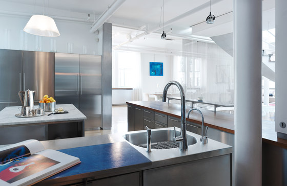 Kubus Sink KBX 110-34 Stainless Steel by Franke Kitchen Systems