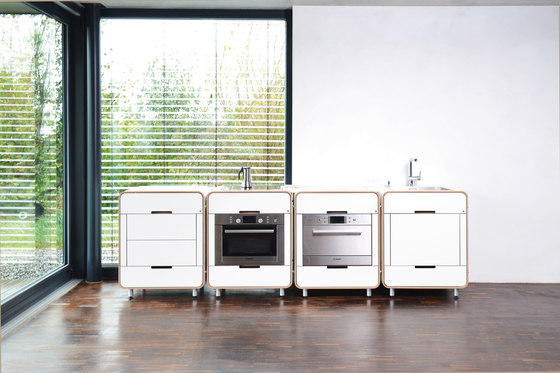 A la carte II electrical appliance module: dish washer by Stadtnomaden