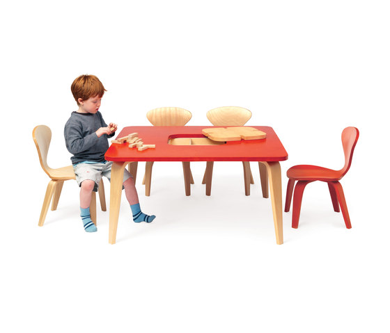Cherner Childrens Table 30x60 by Cherner