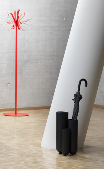 Step Umbrella stand by Müller Möbelfabrikation