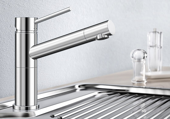BLANCO ALTA Compact | Brushed Stainless Steel by Blanco