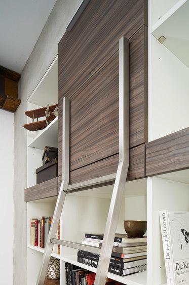 Akzent Leitersystem/ Einhängeleiter von MWE Edelstahlmanufaktur