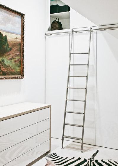 Akzent Ladder System/ Vario-Telescopic Ladder by MWE Edelstahlmanufaktur