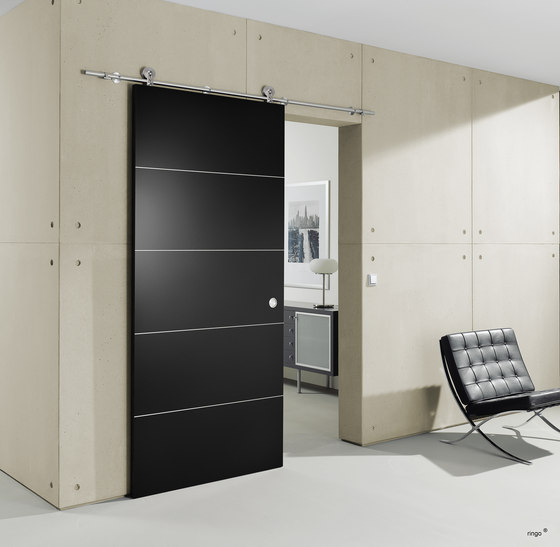 Supra Door System/ Roller Carriage by MWE Edelstahlmanufaktur