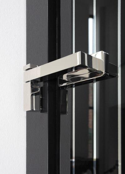 Akzent Door System/ Pivoting Door Rod Systems by MWE Edelstahlmanufaktur