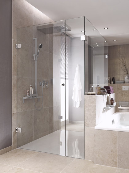 Agitus M Shower System/ Pivoting Door Rod Systems by MWE Edelstahlmanufaktur