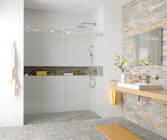 Miami Shower System by MWE Edelstahlmanufaktur