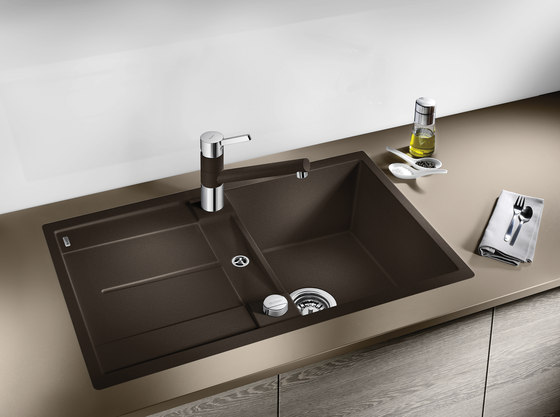 BLANCO METRA 9 | SILGRANIT Alu Metallic by Blanco