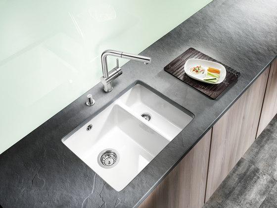 BLANCO SUBLINE 350/350-U | SILGRANIT Alu Metallic by Blanco