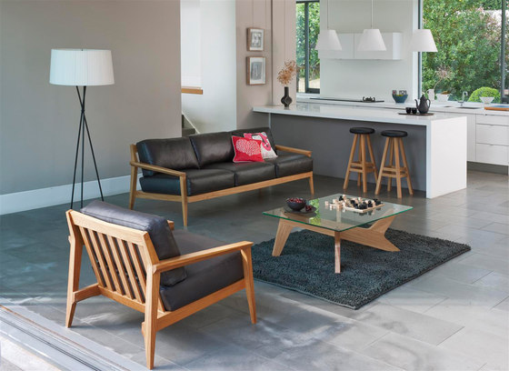 Stanley 3 seat sofa by Case Furniture