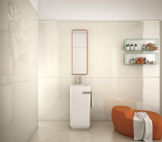 Lumen White Lux Composizione Petal Ceramic Tiles From