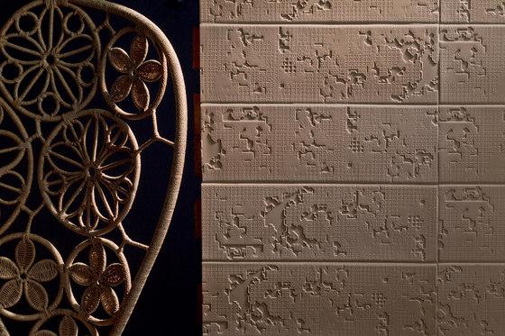 Bas-Relief code bianco by Ceramiche Mutina