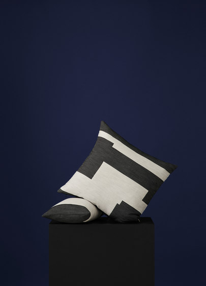 Graphic Cushion Black | Small by NEW WORKS