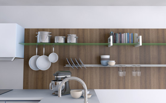 Plate shelf by Strackk
