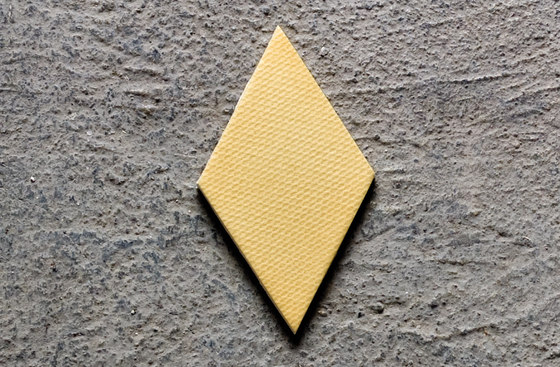 Tex yellow by Ceramiche Mutina