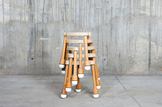 Crick Stool by QoWood