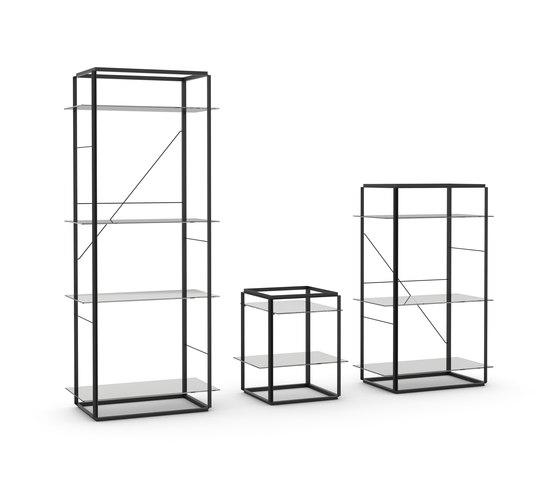 Florence Shelf Iron Black | Medium by NEW WORKS
