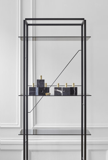 Florence Shelf Raw Gold | Medium by NEW WORKS