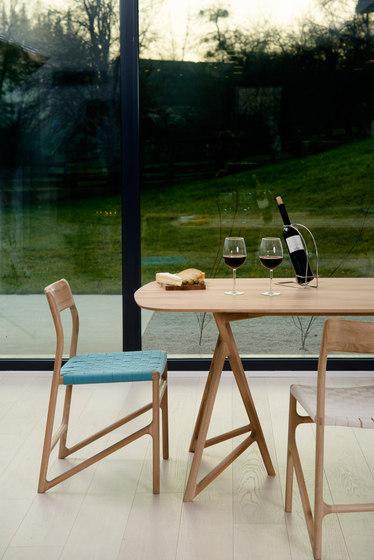 Fawn - koza table linoleum di Gazzda