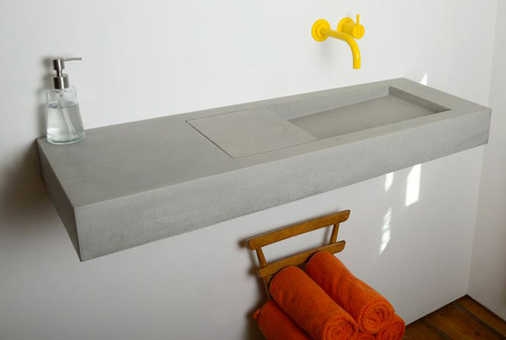 Flor Double by Kast Concrete Basins