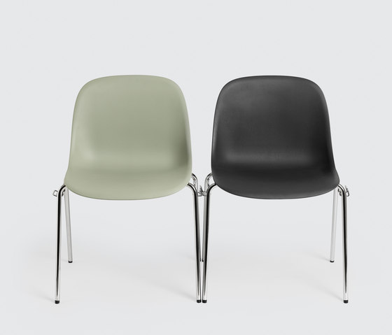 Fiber Side Chair | wood base de Muuto