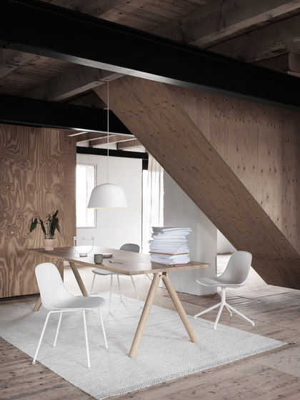 Fiber Side Chair | sled base de Muuto