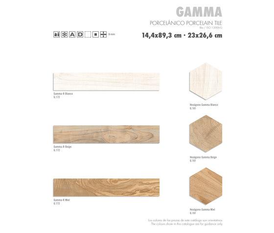 Gamma | Hexagono Gamma Blanco by VIVES Cerámica