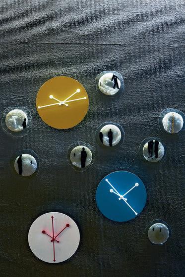 Dotty Clock ABI11 Y by Alessi