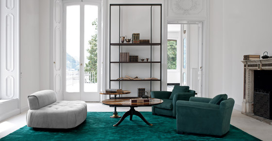 BOURGEOIS Low cabinet with drawers by Baxter