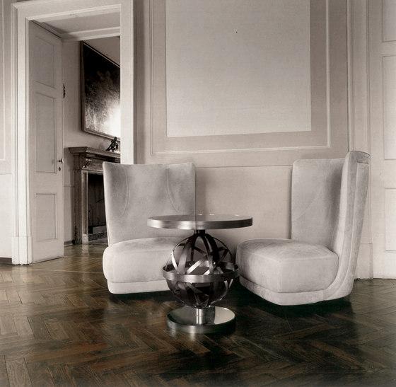 ETIENNE BERGÈRE Revolving armchair de Baxter